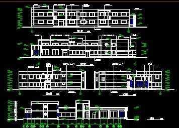 六班幼儿园建筑施工图