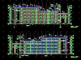 教学楼建筑工程施工图纸