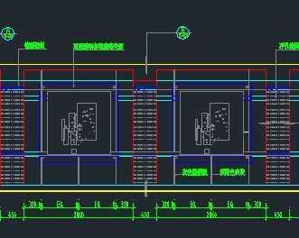 某展示厅设计立面图免费下载 建筑详图 图库