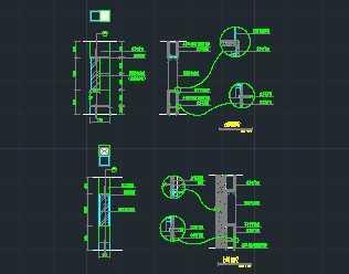 家庭装修装饰柜剖面详图免费下载 建筑户型平面图 高清图片