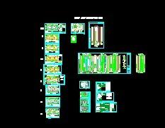 23层剪力墙高层住宅设计图 高清图片