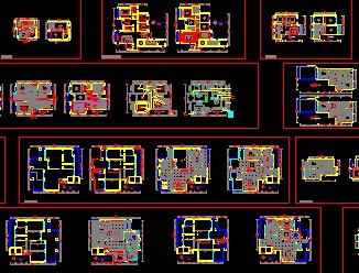 住宅装修平面图免费下载 建筑装修图 高清图片