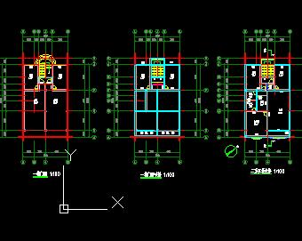 临街商铺设计平面图