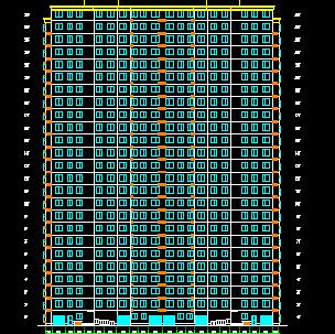 某户型25层住宅楼设计图免费下载-建筑小区平室内设计v户型方法有哪些内容图片