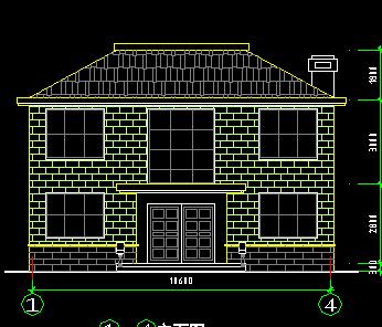 两层别墅平面设计图纸