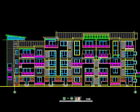 五层住宅设计图免费下载