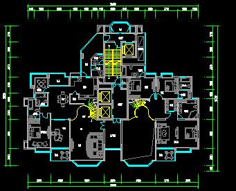 复式户型平面图