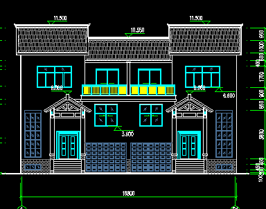 农村住宅建筑设计图纸