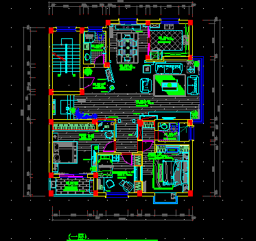 二層別墅戶型設計圖免費下載 - 建筑戶型平面圖