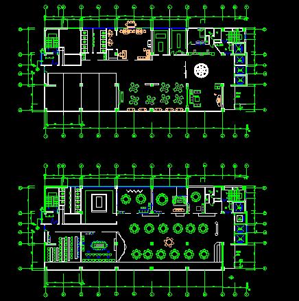 某高层新概念公寓住宅楼一字型户型平面图带效果图图片