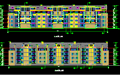 五层住宅建筑设计图纸