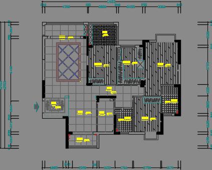 160平米住宅装修施工图纸