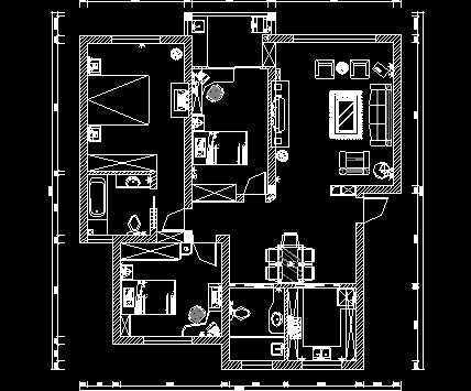 家装施工图纸免费下载