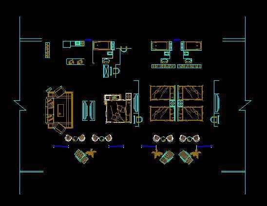 山地旅馆设计方案图免费下载 - 建筑详图,图库 - 土木图片