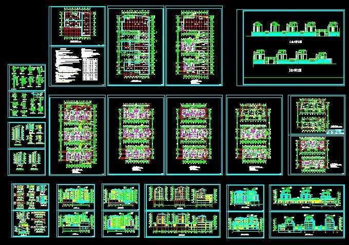 求10米宽x12米长房屋设计图展示图片