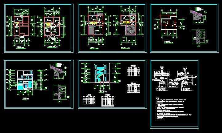 农村自建房建筑图免费下载