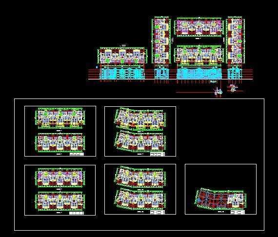 住宅房设计图纸