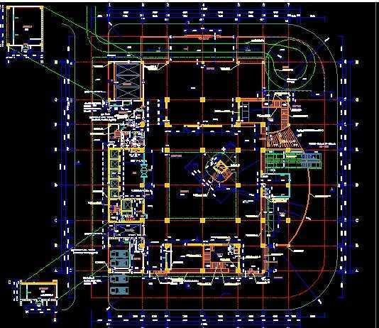 建筑设计图免费下载