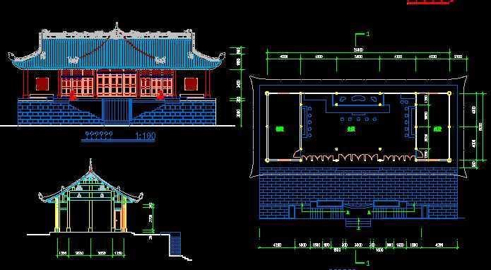 古建筑施工图