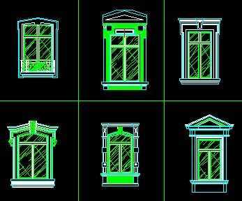 外墙半圆形窗户效果图