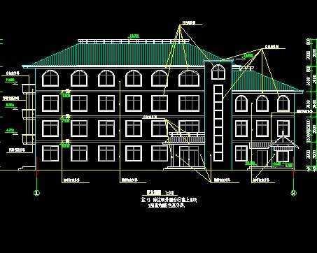 教学楼建筑施工图