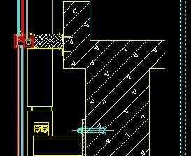 玻璃幕墙层间设计节点免费下载-建筑详图、图金华冲压模具防火招聘图片