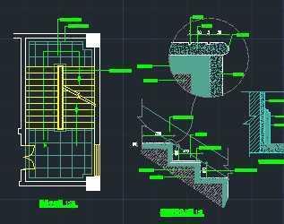 石材踏步楼梯详图免费下载 建筑详图 图库