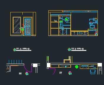 别墅设计儿童房立面图