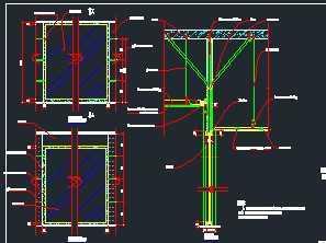 木结构玻璃大样字体图免费下载-建筑详图、图打开cad隔墙选不图片