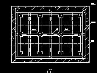 地下室疏水层平面布置图