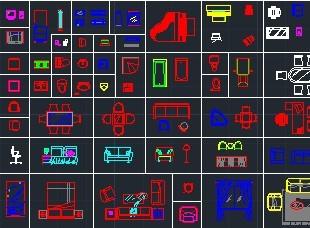 v详图详图CAD图块免费下载-建筑家具、图库cad导入怎么图片