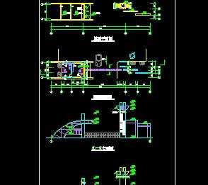 某工厂大门设计详图