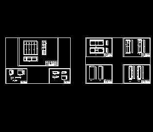 五门大衣柜设计图图片