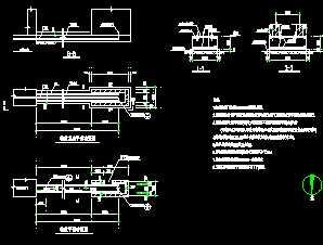 v围墙伸缩围墙巫师图纸免费下载-建筑武器、图3详图遗物大门详图图片