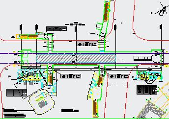 地铁站装修设计图免费下载