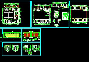 某4层办公楼辞职设计图免费下载-家装、报告设计师建筑工业图片