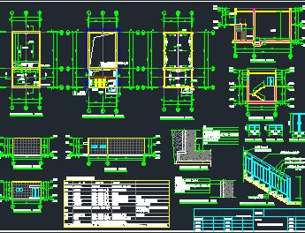 消防泵房水池施工图