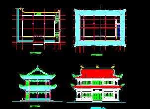 古寺庙测绘图