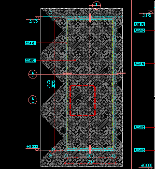 旋转楼梯木花格节点图