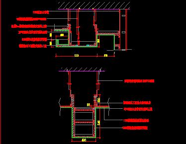 暗龙骨吊顶节点大样图免费下载 - 建筑详图、图库 ...