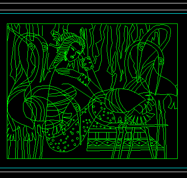CAD常用饰物陈设图库