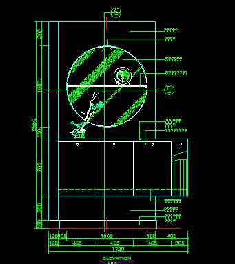 家装类CAD图块