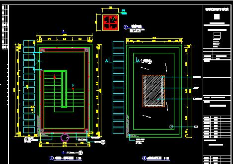 楼梯疏散口设计图免费下载 建筑详图 图库