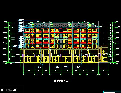 某批发市场全套施工图纸(建筑结构、水电、勘探报告)