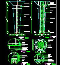 13个装饰柱建筑设计详图