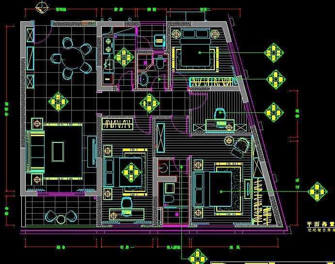 户型设计户型免费下载-建筑图纸平面图-土木工程网设计涛溪图片