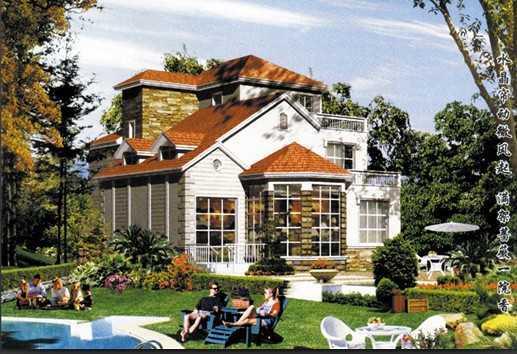 西安高山流水图纸v图纸效果免费下载-建筑别墅片图纸链图片
