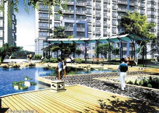 武汉名都花园设计图纸图片