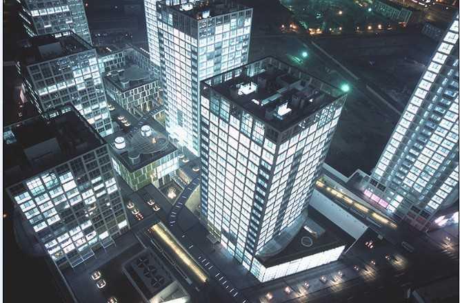建外SOHO效果图免费下载 - 建筑效果图