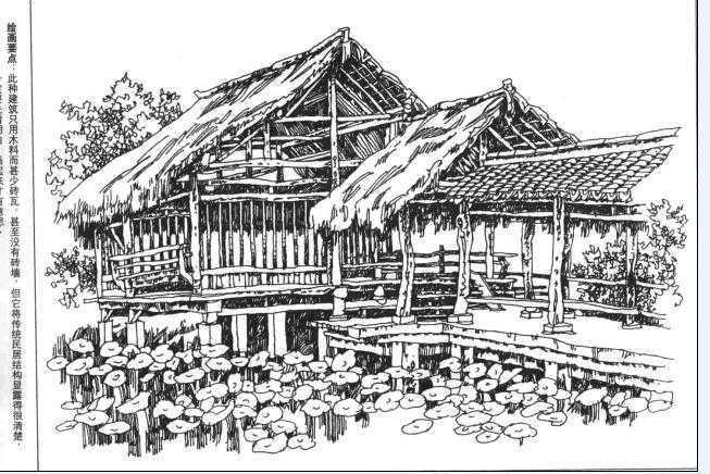 钢笔手绘图集免费下载 - 建筑效果图 - 土木工程网